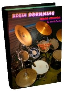 Begin Drumming Book - 3rd edition